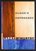 Books:Fiction, Larry McMurtry. SIGNED. Duane's Depressed. New York: Simonand Schuster, 1999. First hardcover edition with dust jacket....