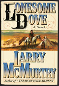 Books:Fiction, Larry McMurtry. SIGNED. Lonesome Dove. New York: Simon andSchuster, 1985. First hardcover edition with dust jacket. Ver...