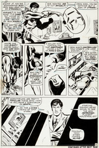 Don Heck and Mike Esposito Iron Man #36 Page 9 Original Art (Marvel, 1971)