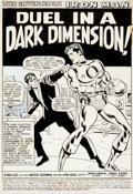 Original Comic Art:Splash Pages, Don Heck and Johnny Craig Iron Man #26 Splash Page 1Original Art (Marvel, 1970)....