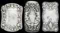 Silver Smalls:Match Safes, THREE GORHAM SILVER MATCH SAFES, Providence, Rhode Island, circa1900. Marks: (lion-anchor-G), STERLING, B407; B417; B1113...(Total: 3 Items)