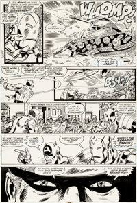 George Perez and John Tartaglione Avengers Annual #6 Page 22 Original Art (Marvel, 1976)