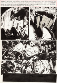 "Michael Golden The 'Nam #8 ""Tunnel Rat"" Page 5 Original Art (Marvel, 1987)"