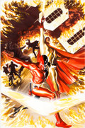 Original Comic Art:Covers, Alex Ross Project Superpowers #2 Cover Original Art(Dynamite Entertainment, 2008)....