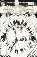 Original Comic Art:Covers, Dave Gibbons Green Lantern #176 Cover Original Art (DC,1984)....