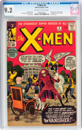Silver Age (1956-1969):Superhero, X-Men #2 (Marvel, 1963) CGC NM- 9.2 Off-white to white pages....
