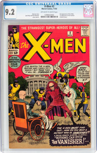 X-Men #2 (Marvel, 1963) CGC NM- 9.2 Off-white to white pages
