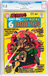 Our Army at War #190 (DC, 1968) CGC NM/MT 9.8 White pages
