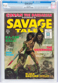 Magazines:Adventure, Savage Tales #1 (Marvel, 1971) CGC NM+ 9.6 White pages....