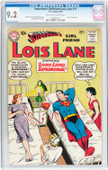 Silver Age (1956-1969):Superhero, Superman's Girlfriend Lois Lane #17 (DC, 1960) CGC NM- 9.2 Cream to off-white pages....