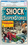 Golden Age (1938-1955):Horror, Shock SuspenStories #3 (EC, 1952) CGC NM 9.4 White pages....