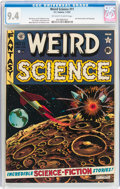 Golden Age (1938-1955):Science Fiction, Weird Science #11 (EC, 1952) CGC NM 9.4 Off-white to whitepages....