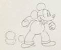Animation Art:Production Drawing, Mickey's Service Station Mickey Mouse Production DrawingAnimation Art (Walt Disney, 1935)....
