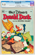 Golden Age (1938-1955):Funny Animal, Four Color #408 Donald Duck - File Copy (Dell, 1952) CGC VF/NM 9.0 Off-white pages....