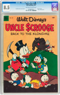 Golden Age (1938-1955):Cartoon Character, Four Color #456 Uncle Scrooge (Dell, 1953) CGC VF+ 8.5 Off-white to white pages....