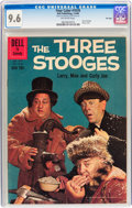Four Color #1078 The Three Stooges - File Copy (Dell, 1960) CGC NM+ 9.6 Off-white pages