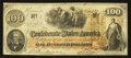 Confederate Notes:1862 Issues, T41 $100 1862 PF-22 Cr. Cr. 320A.. ...