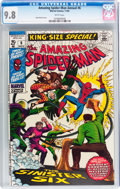 Silver Age (1956-1969):Superhero, The Amazing Spider-Man Annual #6 (Marvel, 1969) CGC NM/MT 9.8 White pages....