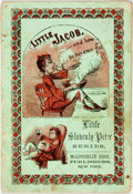 Books:Americana & American History, [Americana]. Little Jacob, and How He Became Fat. LittleSlovenly Peter Series. New York: McLoughlin Bros., [n.d...