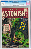 Silver Age (1956-1969):Superhero, Tales to Astonish #27 (Marvel, 1962) CGC VF- 7.5 Cream to off-whitepages....