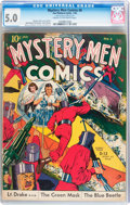 Golden Age (1938-1955):Superhero, Mystery Men Comics #6 (Fox, 1940) CGC VG/FN 5.0 Cream to off-white pages....