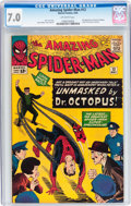 Silver Age (1956-1969):Superhero, The Amazing Spider-Man #12 (Marvel, 1964) CGC FN/VF 7.0 Off-white pages....