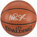 Basketball Collectibles:Balls, Magic Johnson and Jamaal Wilkes Multi Signed Basketball....