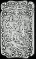Silver Smalls:Match Safes, A GORHAM SILVER MATCH SAFE, Providence, Rhode Island, circa 1897.Marks: (lion-anchor-G), STERLING, 1240, (date mark...