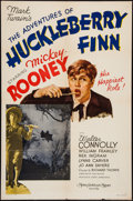 "Movie Posters:Comedy, The Adventures of Huckleberry Finn (MGM, 1939). One Sheet (27"" X41"") Style C. Comedy.. ..."