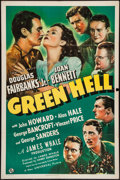 "Movie Posters:Adventure, Green Hell (Universal, 1940). One Sheet (27"" X 41""). Adventure.. ..."