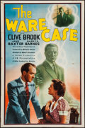 "Movie Posters:Mystery, The Ware Case (20th Century Fox, 1939). One Sheet (27"" X 41""). Mystery.. ..."
