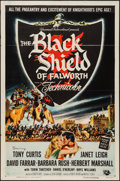 "Movie Posters:Adventure, The Black Shield of Falworth & Other Lot (UniversalInternational, 1954). One Sheets (2) (27"" X 41""). Adventure.. ...(Total: 2 Items)"
