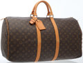 Luxury Accessories:Travel/Trunks, Louis Vuitton Classic Monogram Canvas Keepall 50 Weekender Bag ....