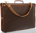 Luxury Accessories:Bags, Celine Brown Monogram Canvas Garment Bag. ...