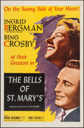 "Movie Posters:Drama, The Bells of St. Mary's (NTA, R-1957). One Sheet (27"" X 41""). Drama.. ..."