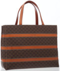 Luxury Accessories:Bags, Celine Brown Monogram Canvas Tote Bag. ...