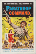 """Movie Posters:War, Paratroop Command & Others Lot (American International, 1959).One Sheets (3) (27"""" X 41""""). War.. ... (Total: 3 Items)"""