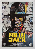 "Movie Posters:Action, Billy Jack (Warner Brothers, 1971). Italian 4 - Foglio (55"" X78.5""). Action.. ..."