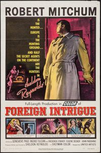 """Foreign Intrigue (United Artists, 1956). One Sheet (27"""" X 41""""). Thriller"""