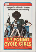"Movie Posters:Bad Girl, The Young Cycle Girls (Peter Perry Pictures, 1977). One Sheet (29""X 42""). Bad Girl.. ..."