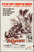 "Movie Posters:Exploitation, The Losers (Fanfare, 1970). One Sheet (27"" X 41""). Exploitation....."