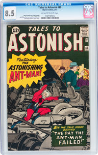 Tales to Astonish #40 (Marvel, 1963) CGC VF+ 8.5 Off-white to white pages