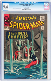 The Amazing Spider-Man #33 (Marvel, 1966) CGC NM+ 9.6 Off-white pages