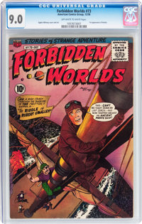 Forbidden Worlds #73 (ACG, 1958) CGC VF/NM 9.0 Off-white to white pages