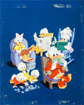 """Original Comic Art:Covers, Carl Barks, Tony Strobl, and Norm McGary Dell Giant #38""""Uncle Donald and His Nephews Family Fun"""" Cover Original A..."""