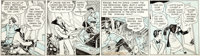 Milton Caniff Terry and the Pirates Daily Comic Strip Original Art dated 3-7-35 (Chicago Tribune, 1935)