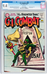 G.I. Combat #100 (DC, 1963) CGC NM 9.4 White pages