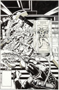 Original Comic Art:Covers, Bob Layton Marvel Team-Up #110 Unpublished Cover Original Art (Marvel, 1981 and 2005)....