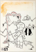 Original Comic Art:Covers, Warren Kremer Richie Rich #16 Cover Original Art (Harvey,1963)....