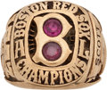 Baseball Collectibles:Others, 1967 Boston Red Sox American League Championship Ring. ...